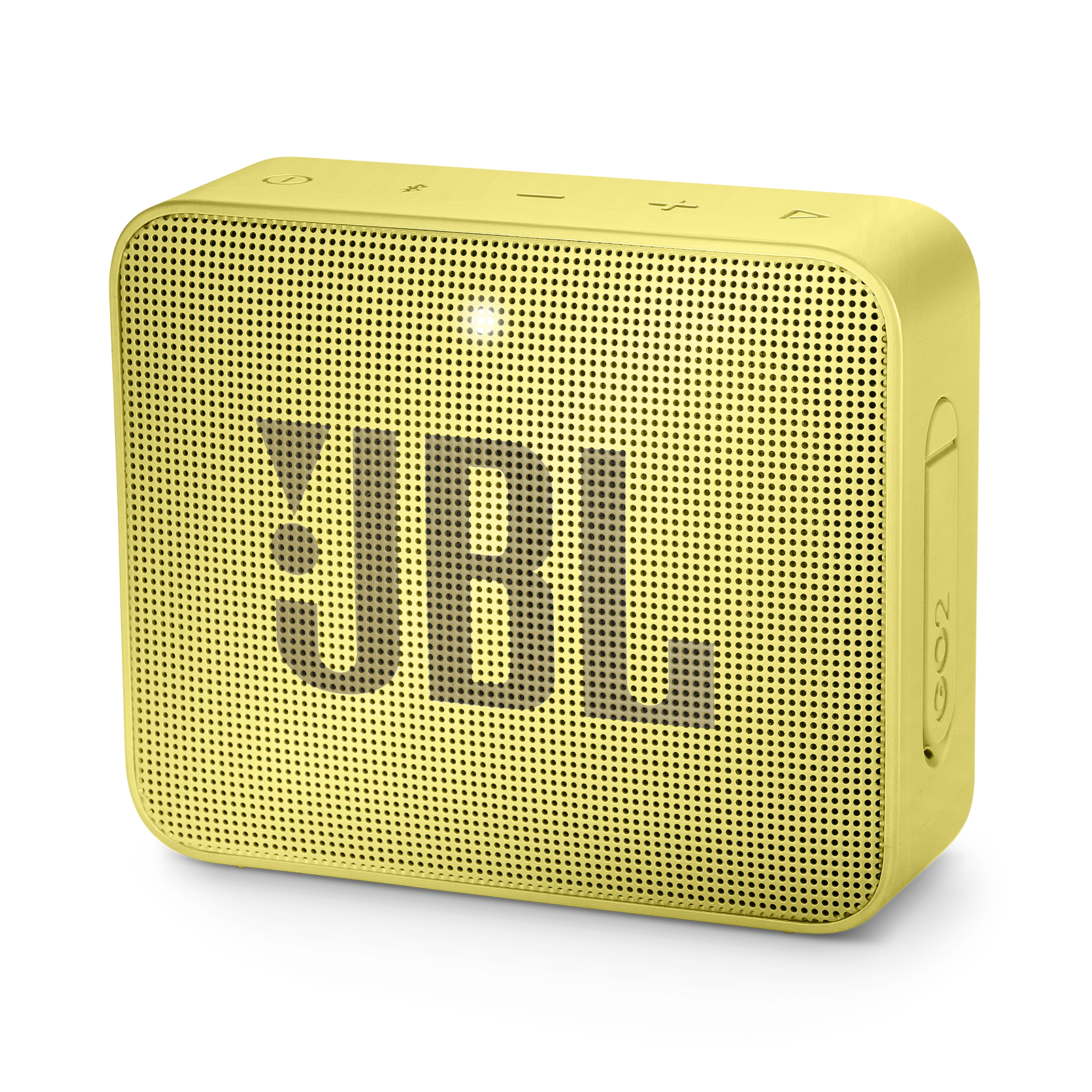 JBL GO 2 - Lemonade Yellow - Portable Bluetooth speaker - Hero