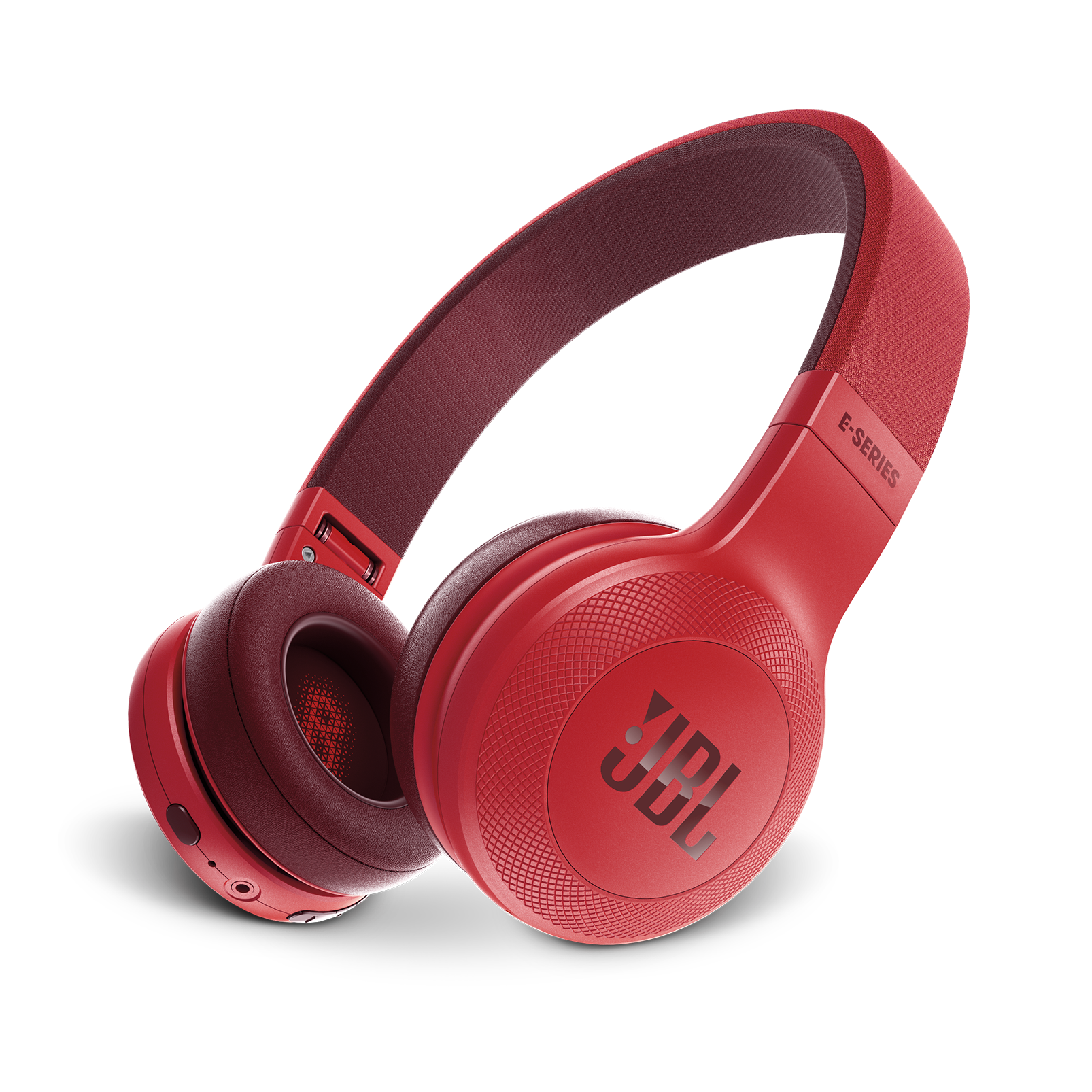 JBL E45BT - Red - Wireless on-ear headphones - Hero