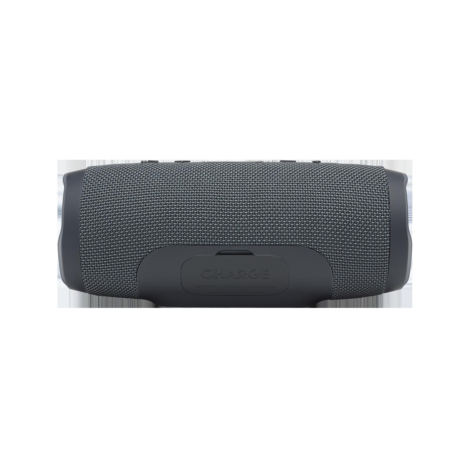 JBL Charge Essential - Gun Metal - Portable waterproof speaker - Back