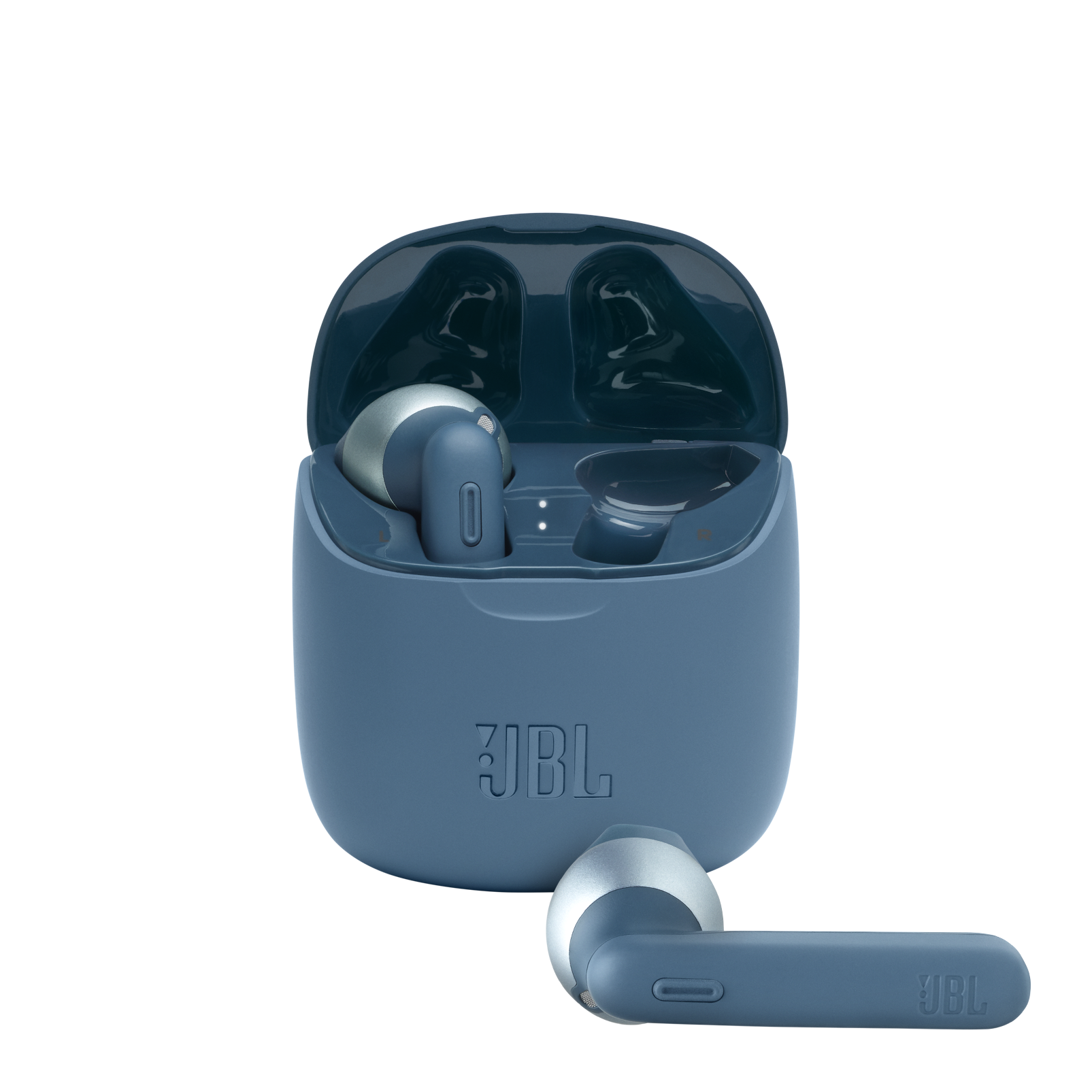 JBL Tune 225TWS - Blue - True wireless earbud headphones - Hero