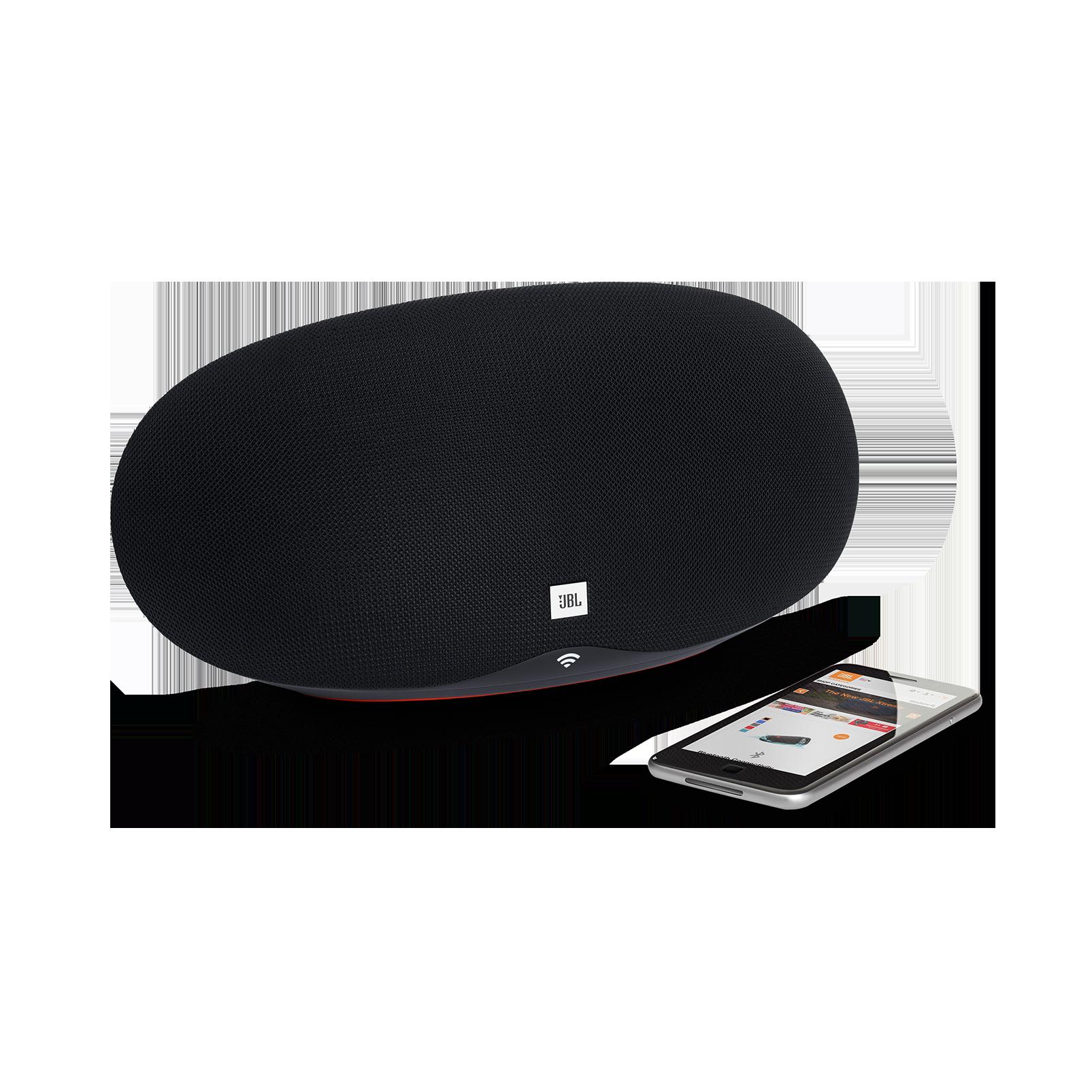JBL Playlist - Black - Wireless speaker with Chromecast built-in - Detailshot 1