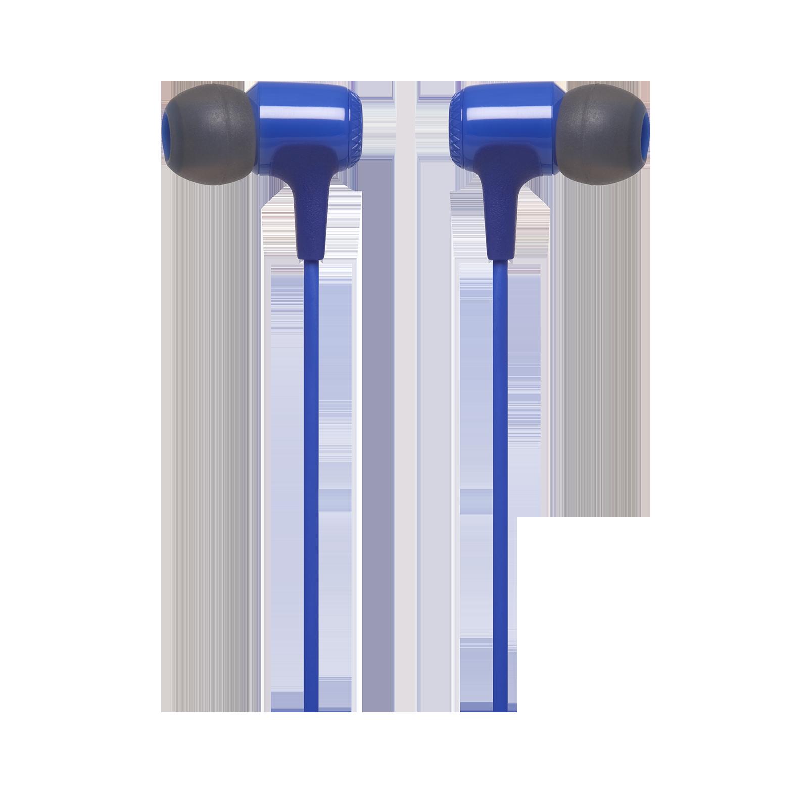 E15 - Blue - In-ear headphones - Detailshot 1