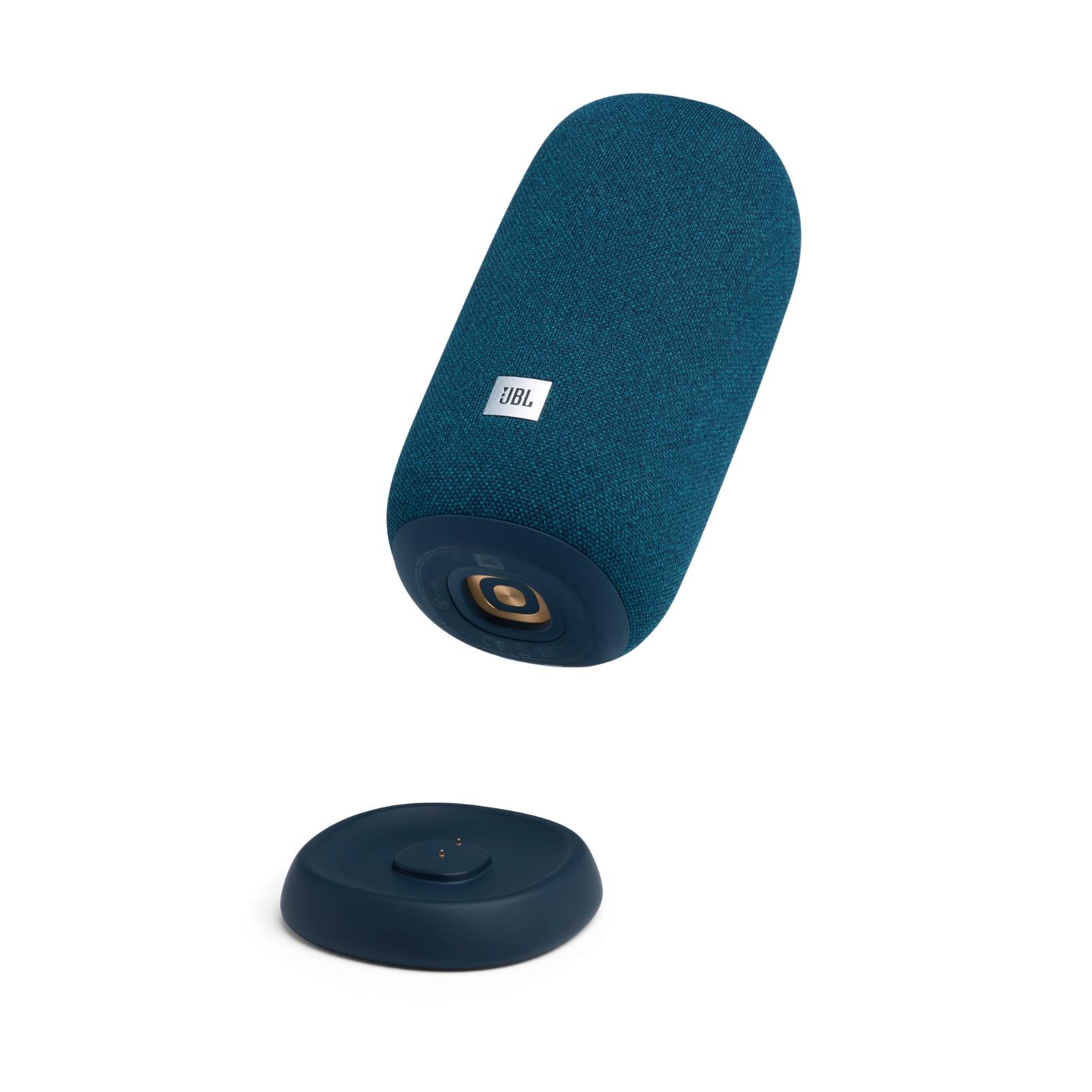 JBL Link Portable - Blue - Portable Wi-Fi Speaker - Detailshot 1
