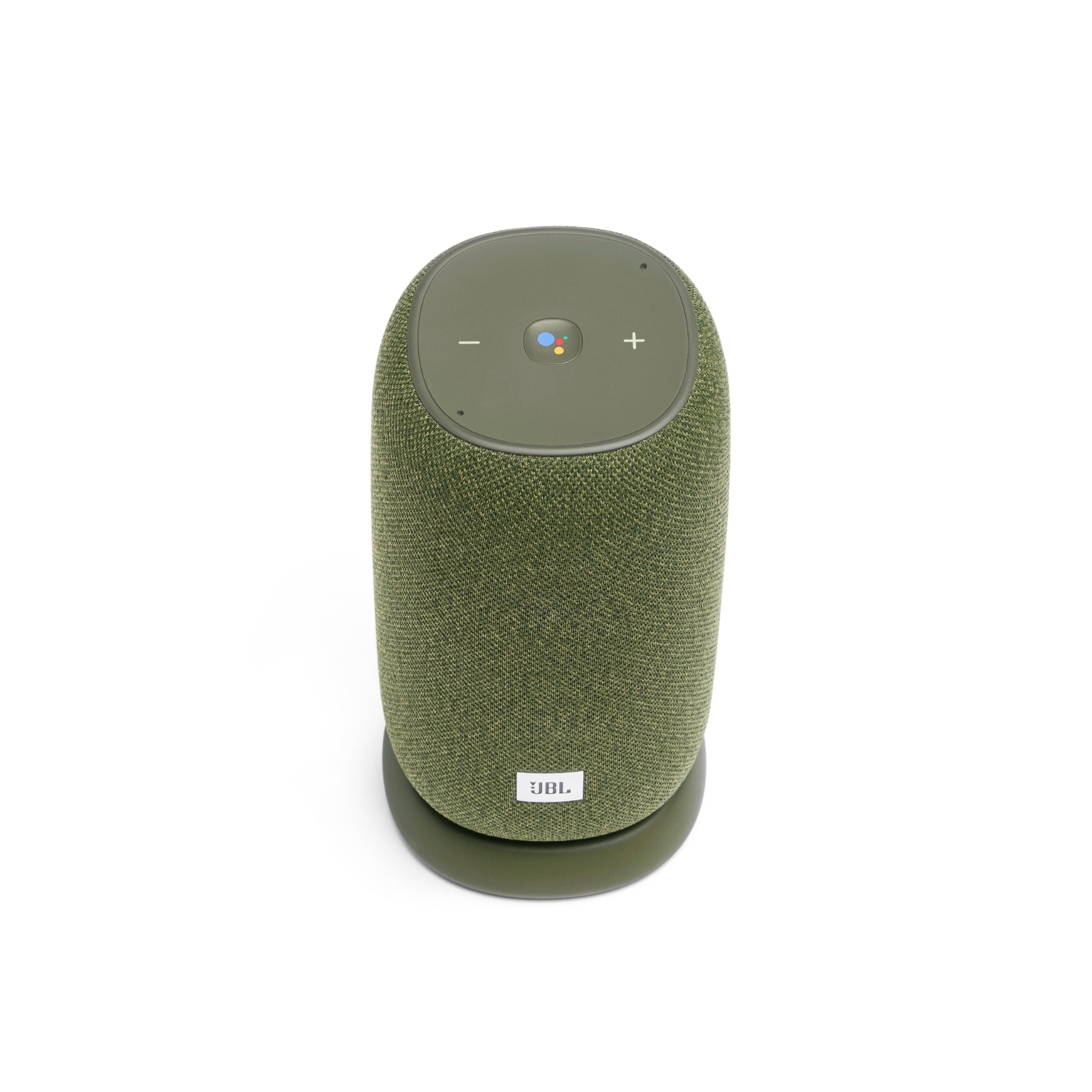 JBL Link Portable - Green - Portable Wi-Fi Speaker - Front