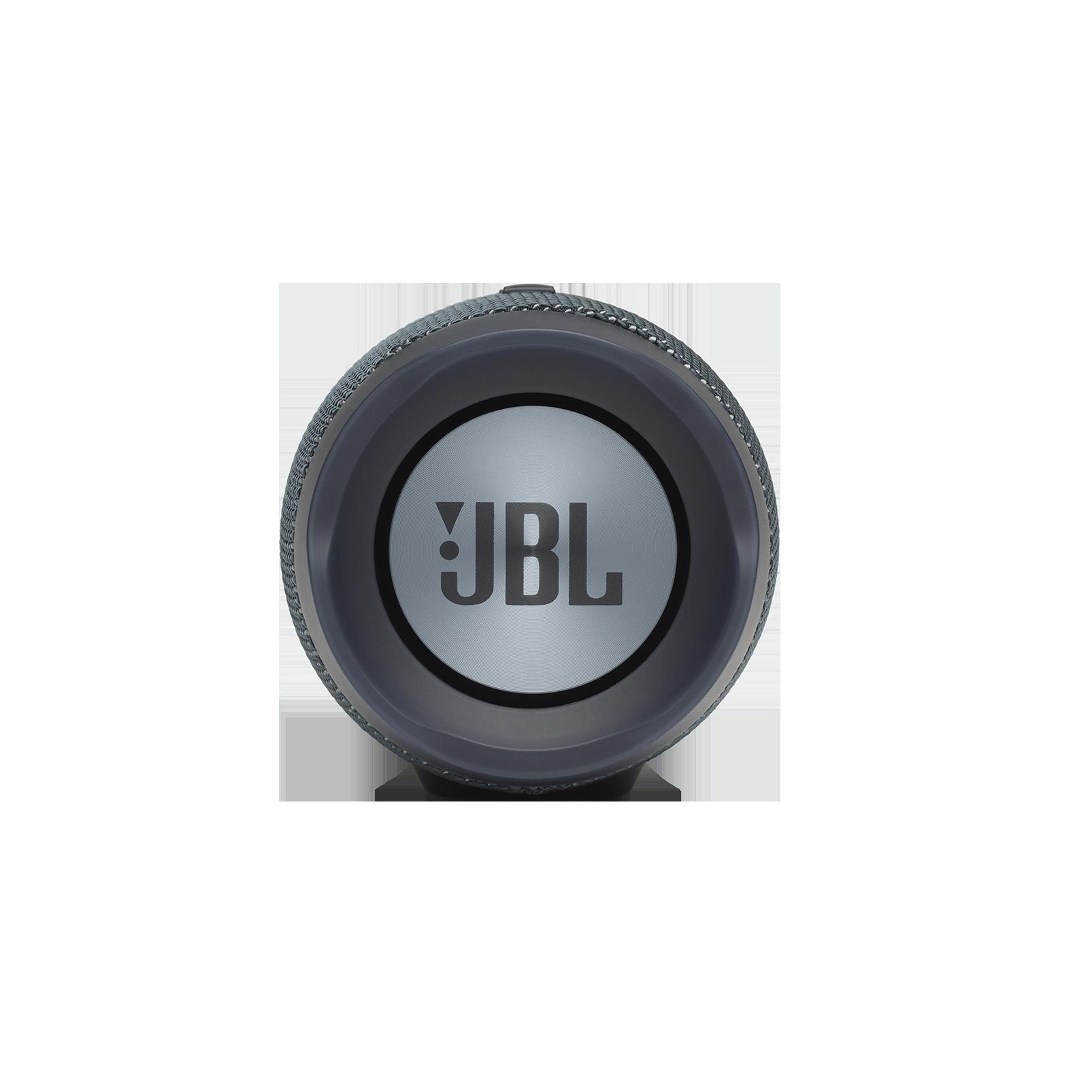 JBL Charge Essential - Gun Metal - Portable waterproof speaker - Left