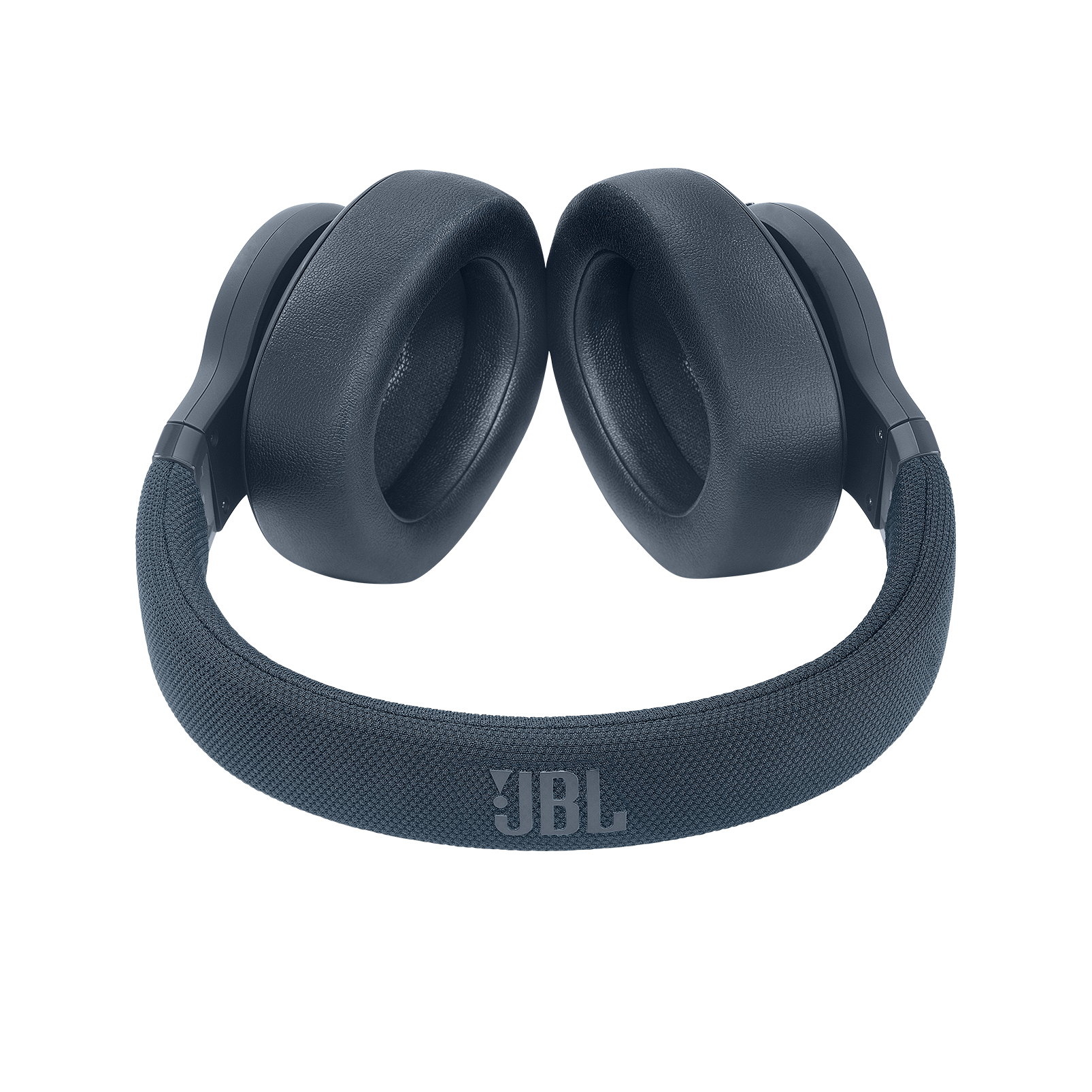 JBL E65BTNC - Blue - Wireless over-ear noise-cancelling headphones - Detailshot 1