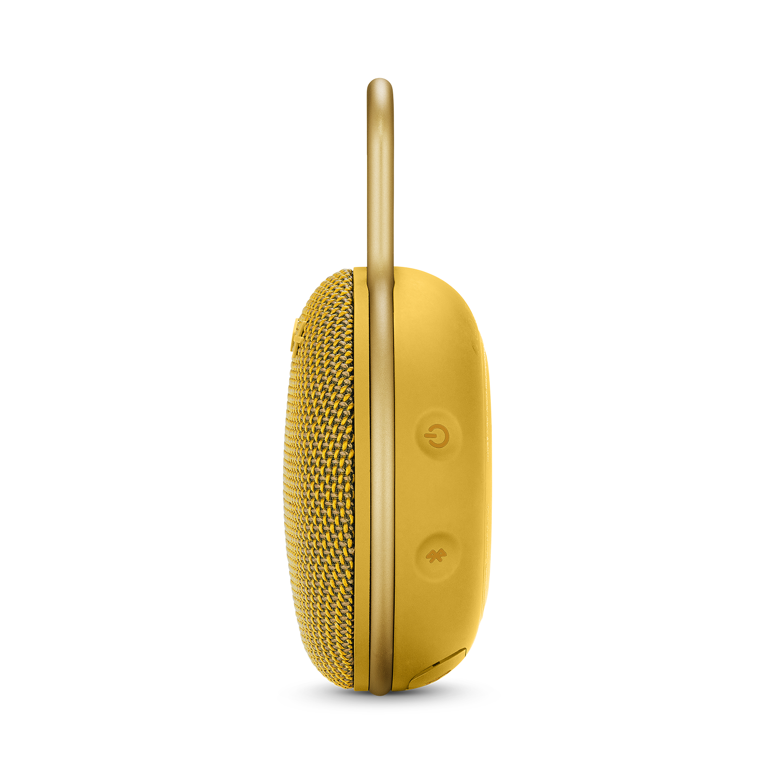 JBL CLIP 3 - Mustard Yellow - Portable Bluetooth® speaker - Detailshot 2