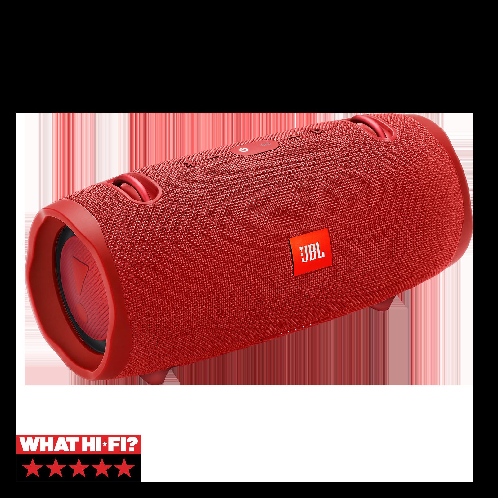 JBL Xtreme 2 - Red - Portable Bluetooth Speaker - Hero