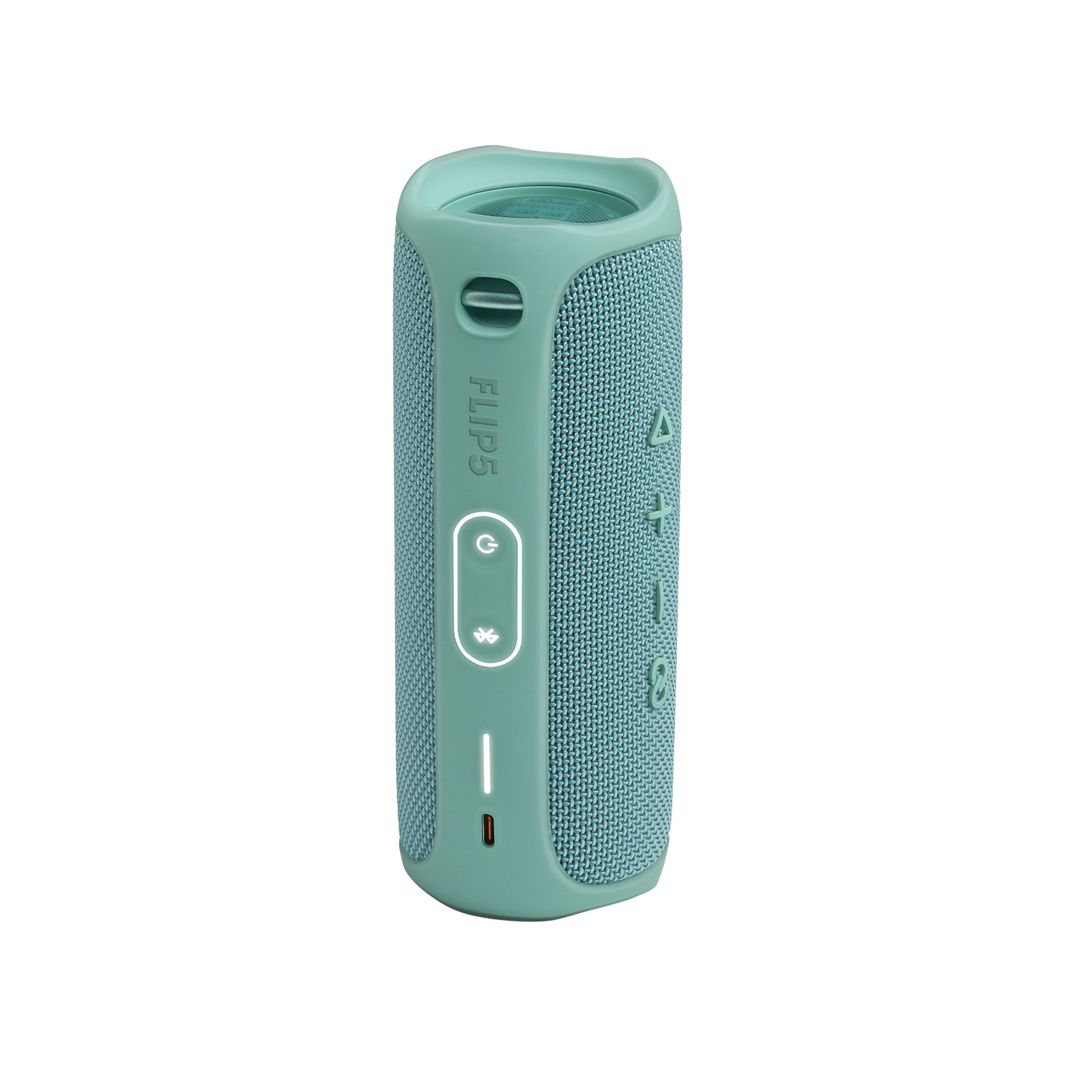 JBL FLIP 5 - Teal - Portable Waterproof Speaker - Back