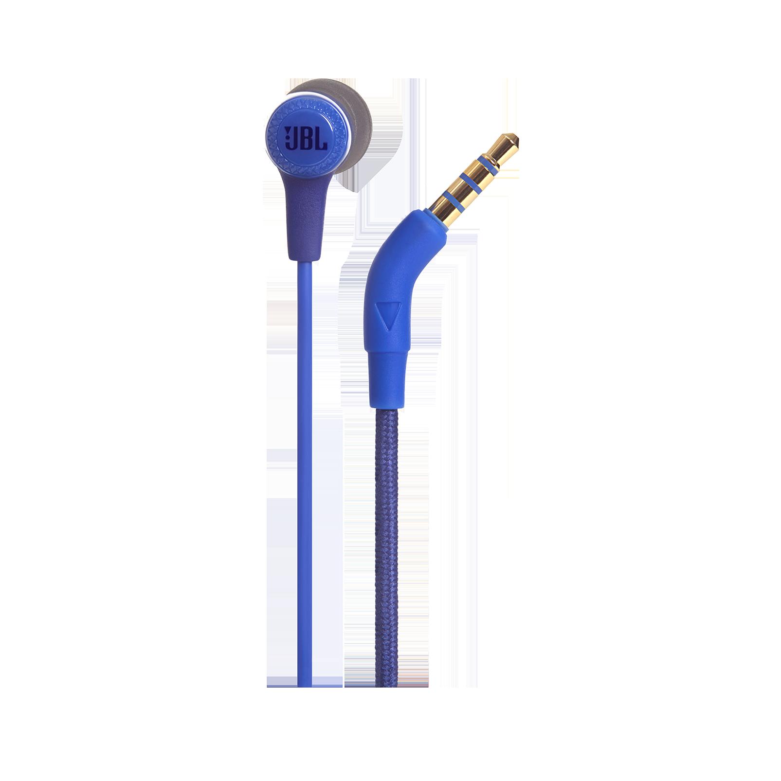 E15 - Blue - In-ear headphones - Detailshot 2