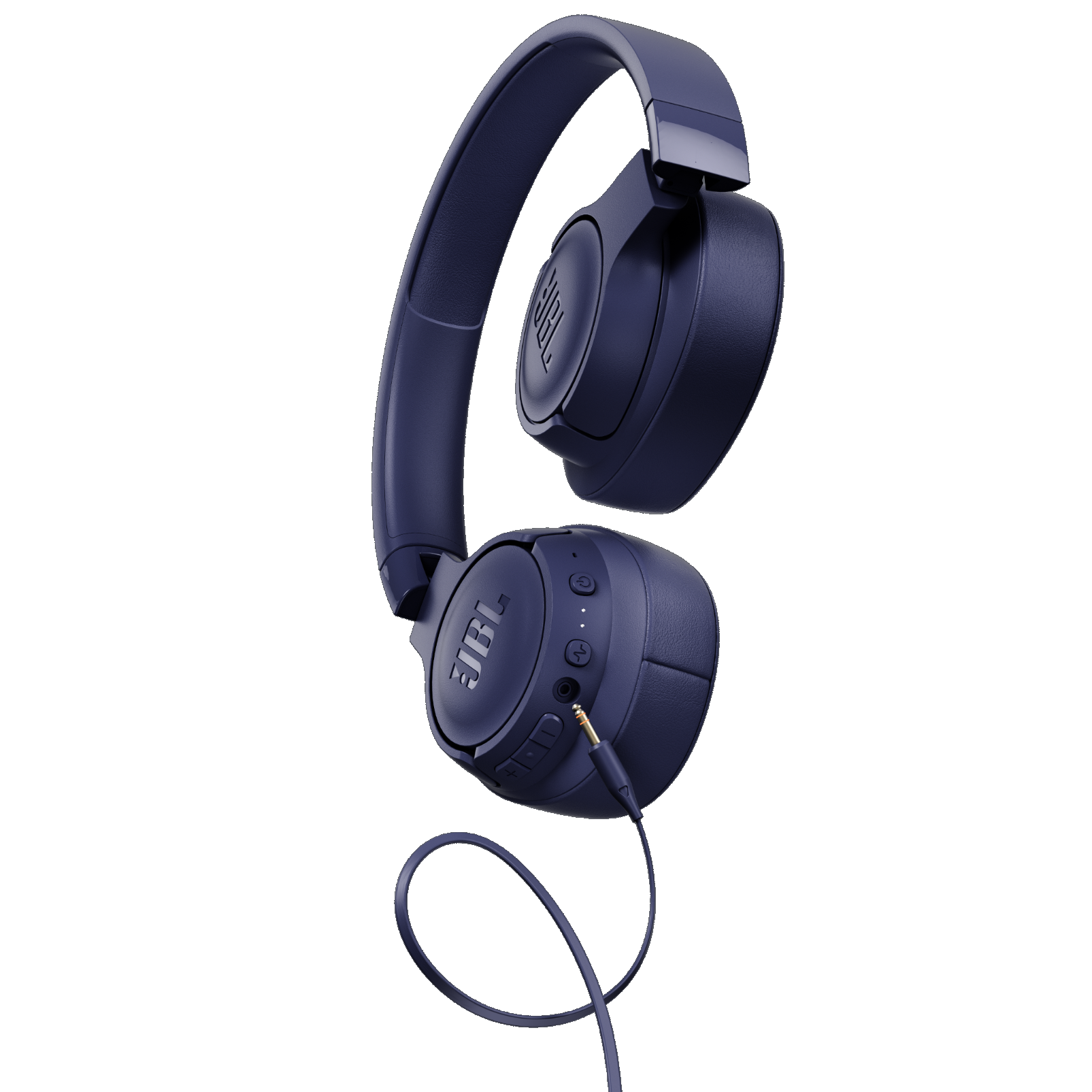 JBL TUNE 750BTNC - Blue - Wireless Over-Ear ANC Headphones - Detailshot 7