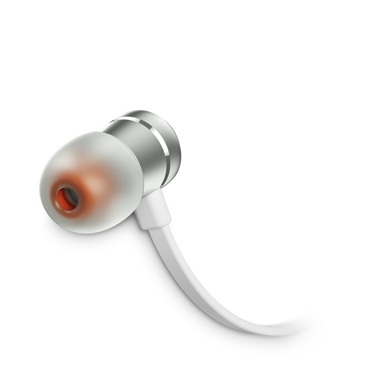 JBL TUNE 290 - Silver - In-ear headphones - Detailshot 1