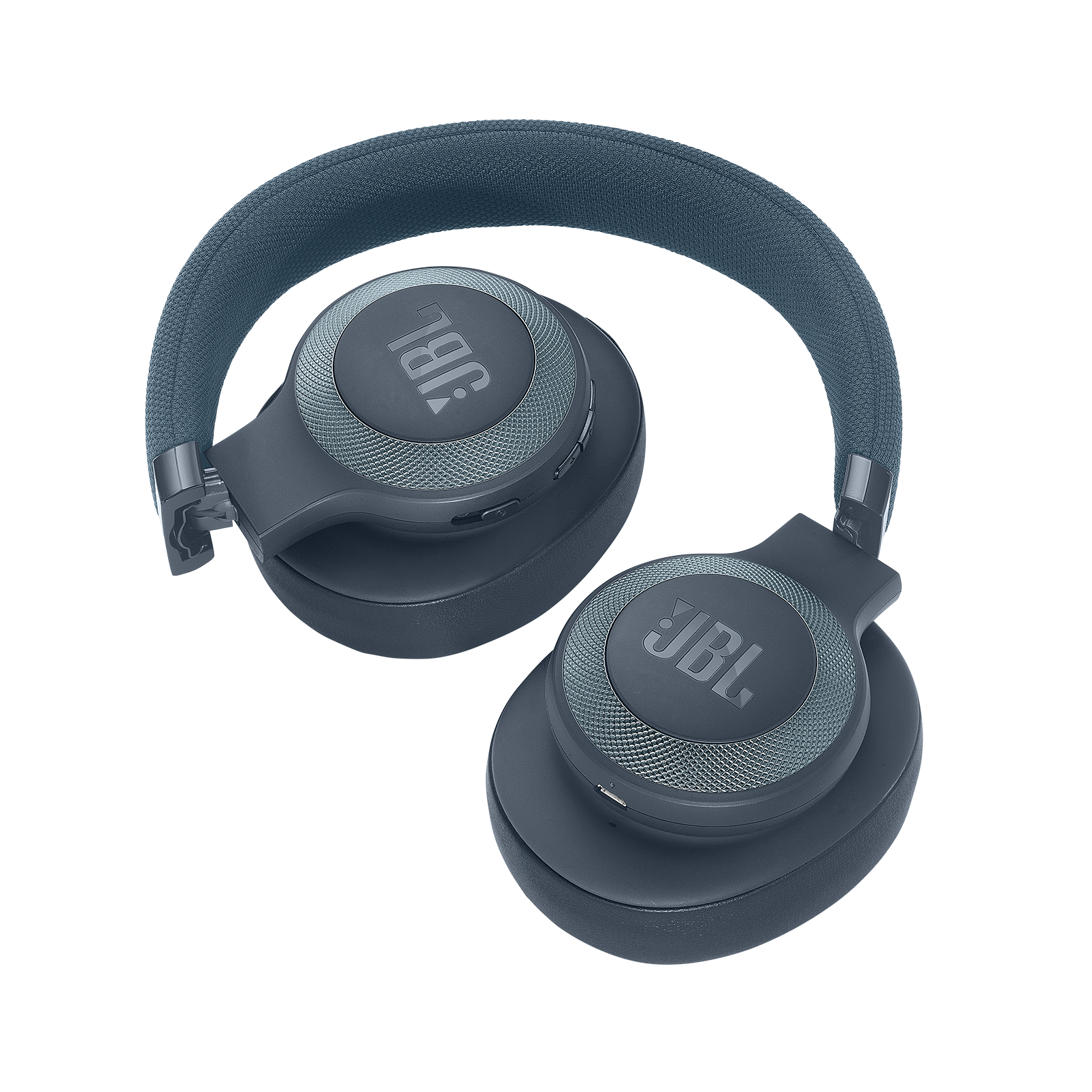 JBL E65BTNC - Blue - Wireless over-ear noise-cancelling headphones - Detailshot 2