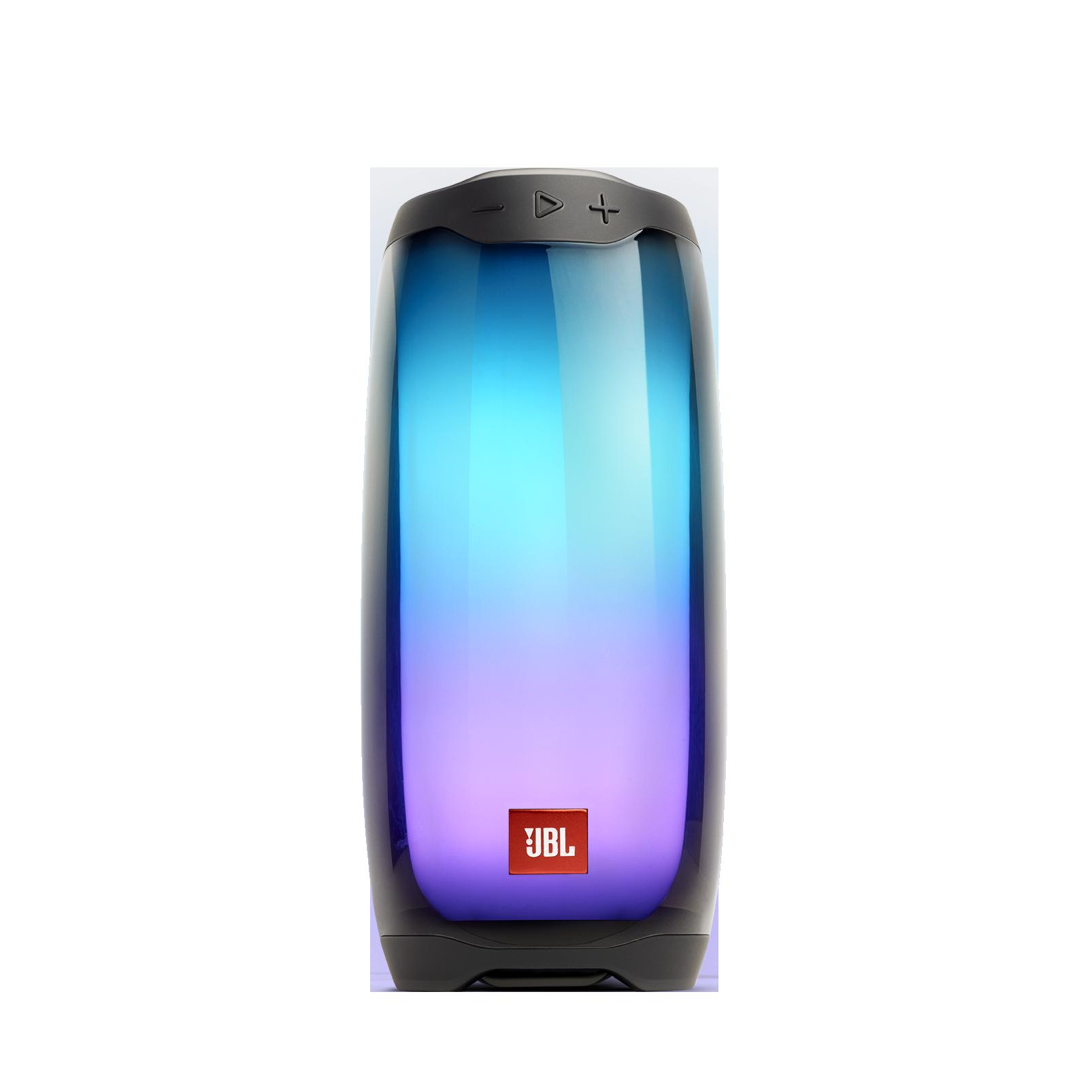 JBL Pulse 4 - Black - Portable Bluetooth Speaker - Hero
