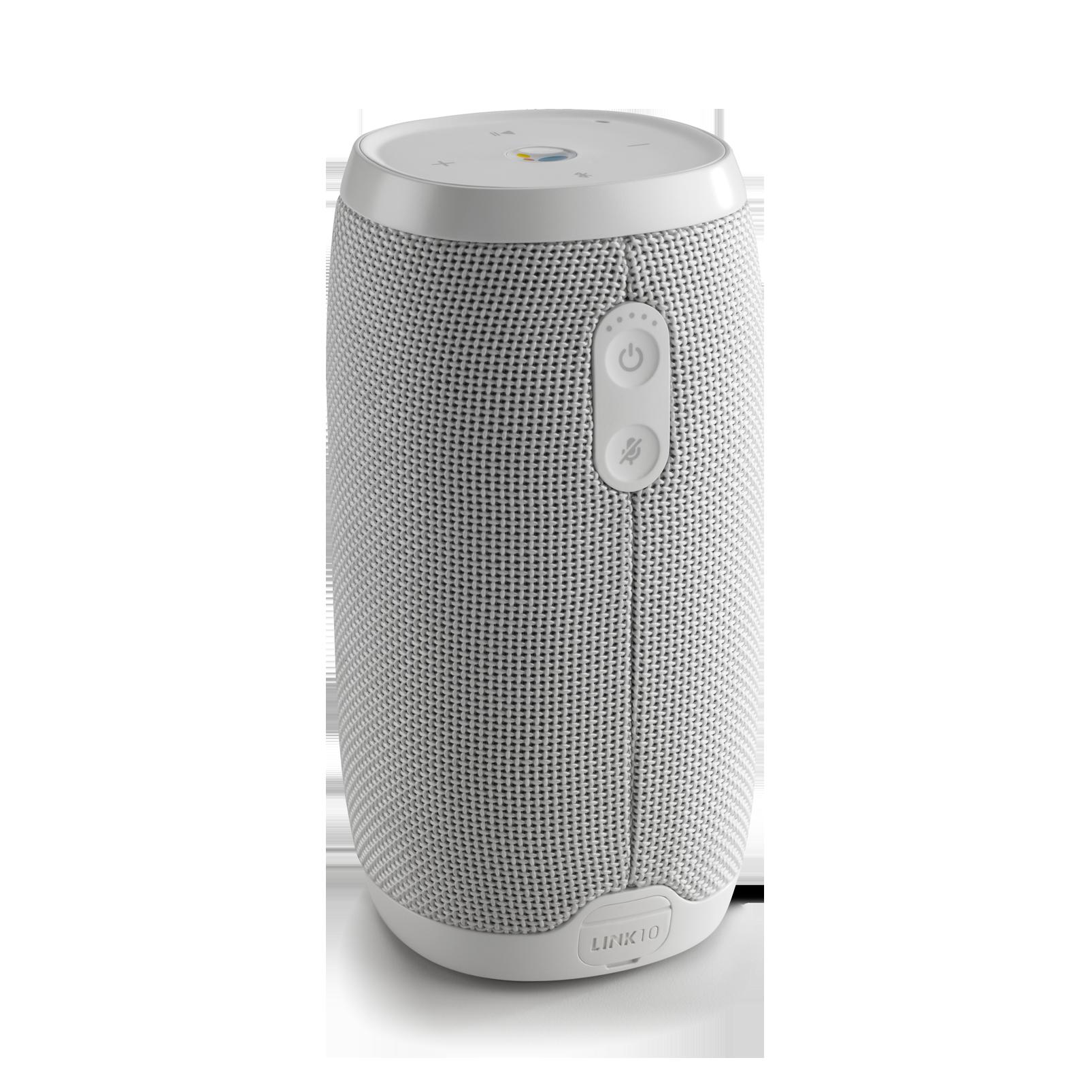 JBL Link 10 - White - Voice-activated portable speaker - Back