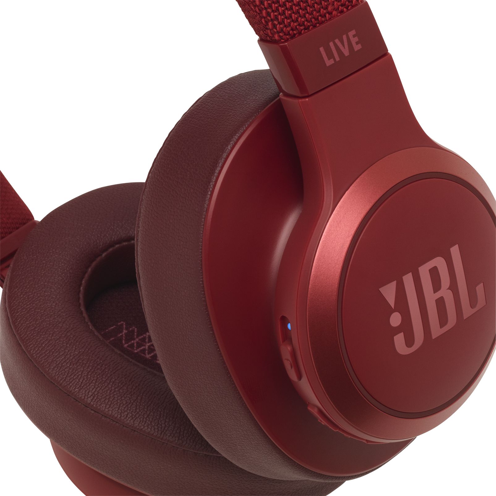 JBL LIVE 500BT - Red - Your Sound, Unplugged - Detailshot 3