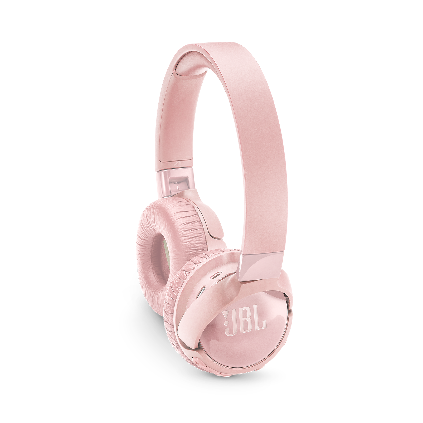 JBL TUNE 600BTNC - Pink - Wireless, on-ear, active noise-cancelling headphones. - Detailshot 1