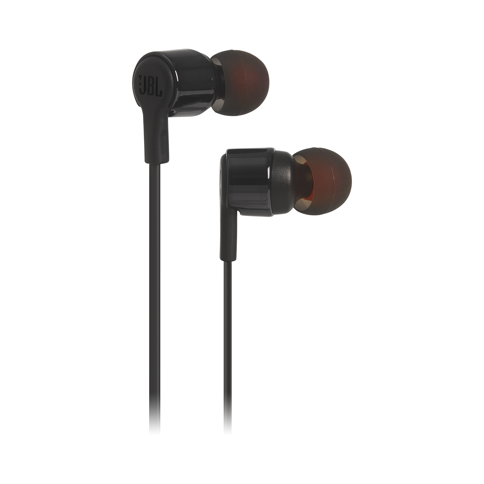 JBL TUNE 210 - Black - In-ear headphones - Hero