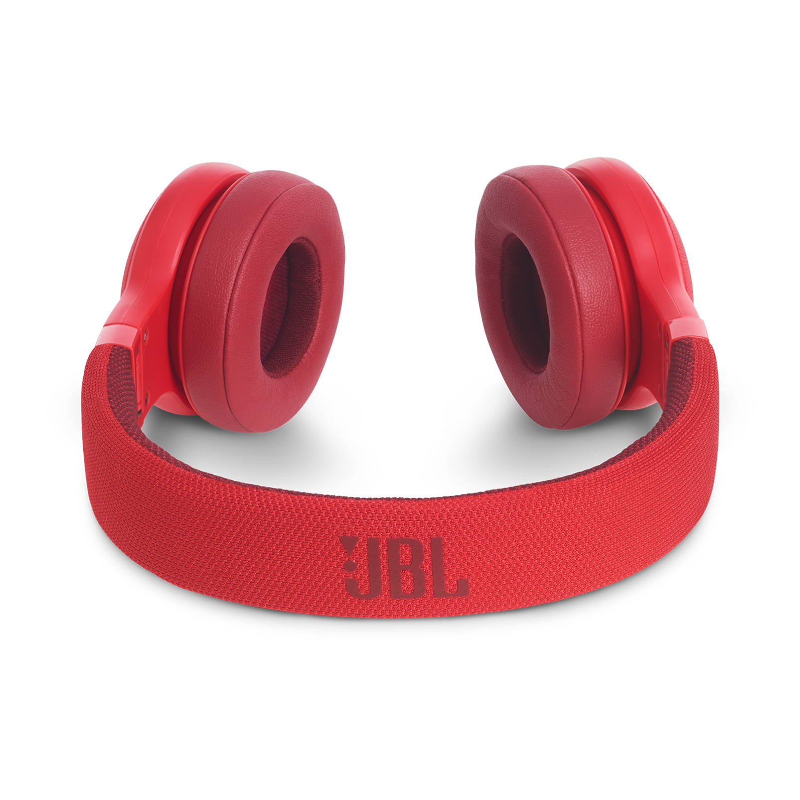 JBL E45BT - Red - Wireless on-ear headphones - Detailshot 3
