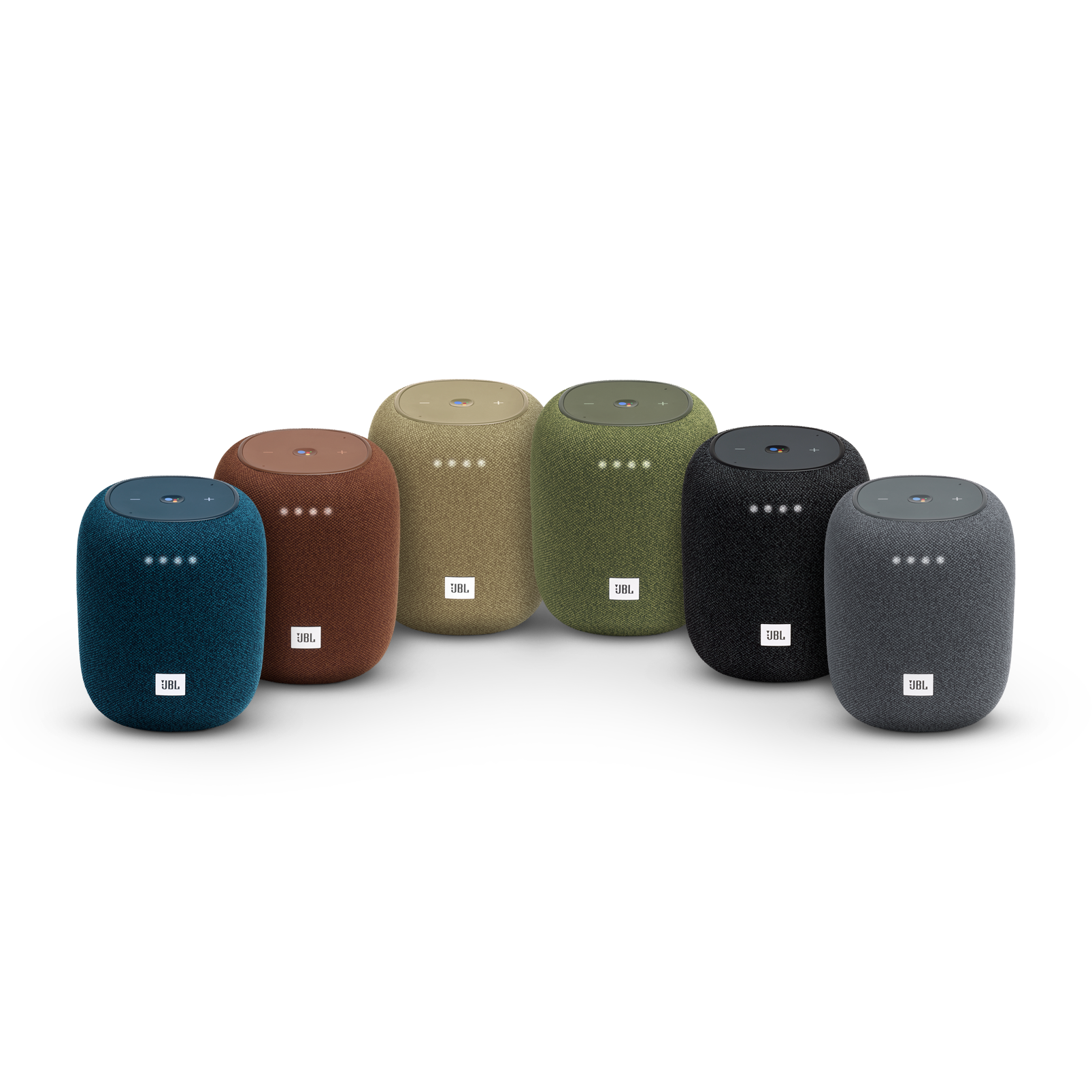 JBL Link Music - Grey - Wi-Fi speaker - Detailshot 2