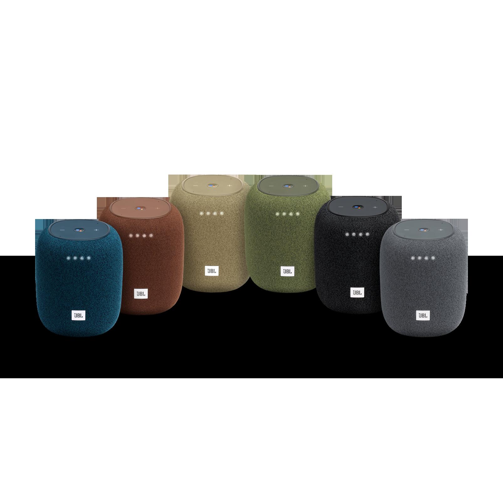 JBL Link Music - Green - Wi-Fi speaker - Detailshot 2