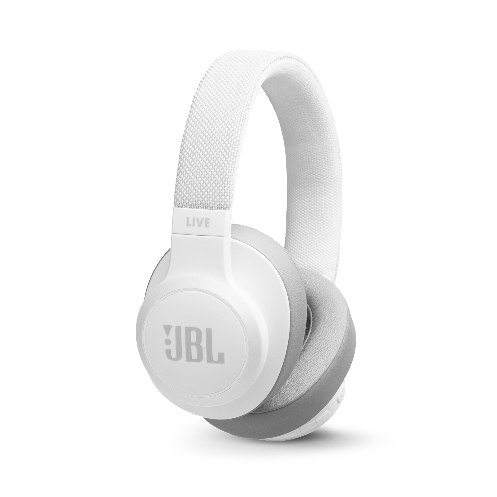 JBL LIVE 500BT - White - Your Sound, Unplugged - Hero