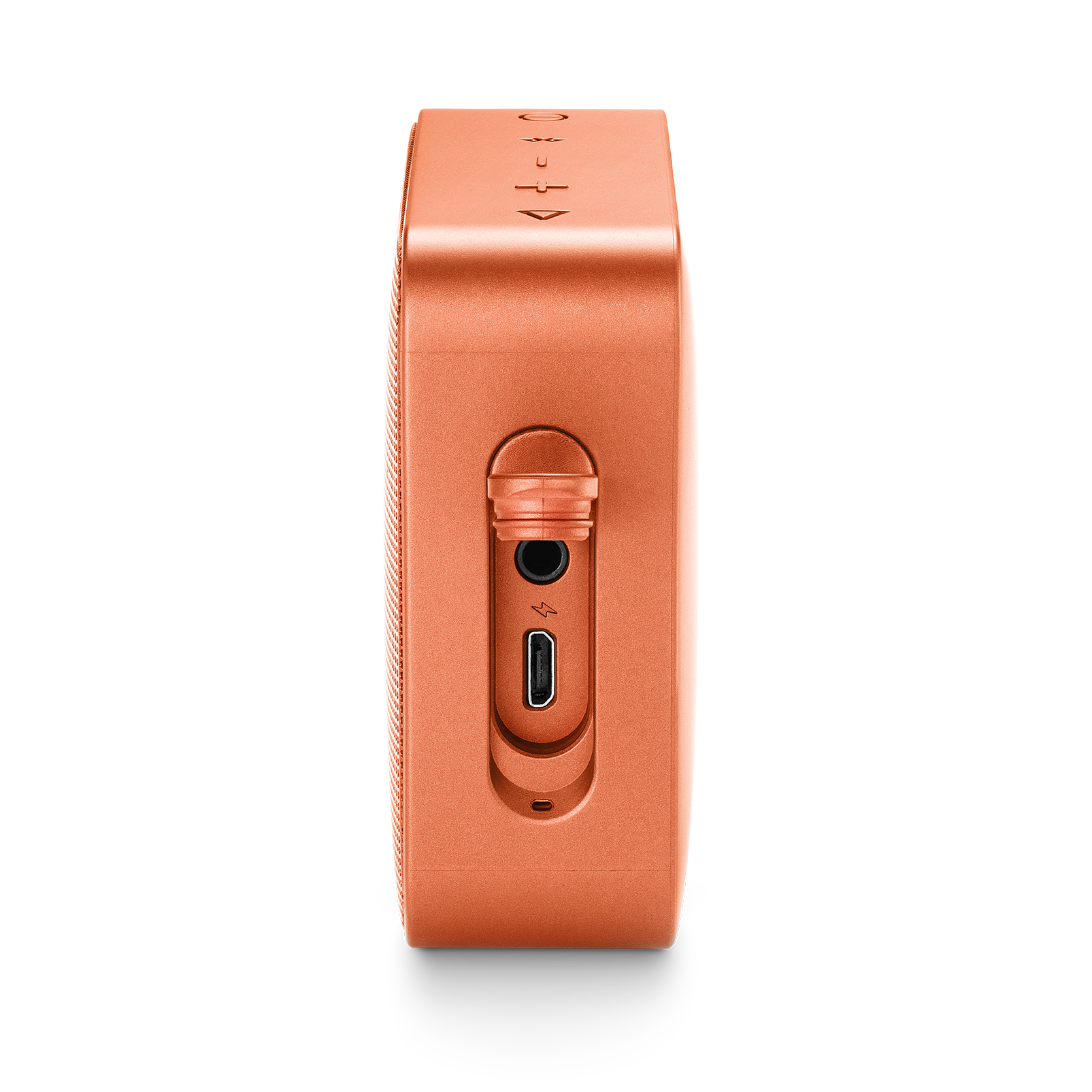 JBL GO 2 - Coral Orange - Portable Bluetooth speaker - Detailshot 4