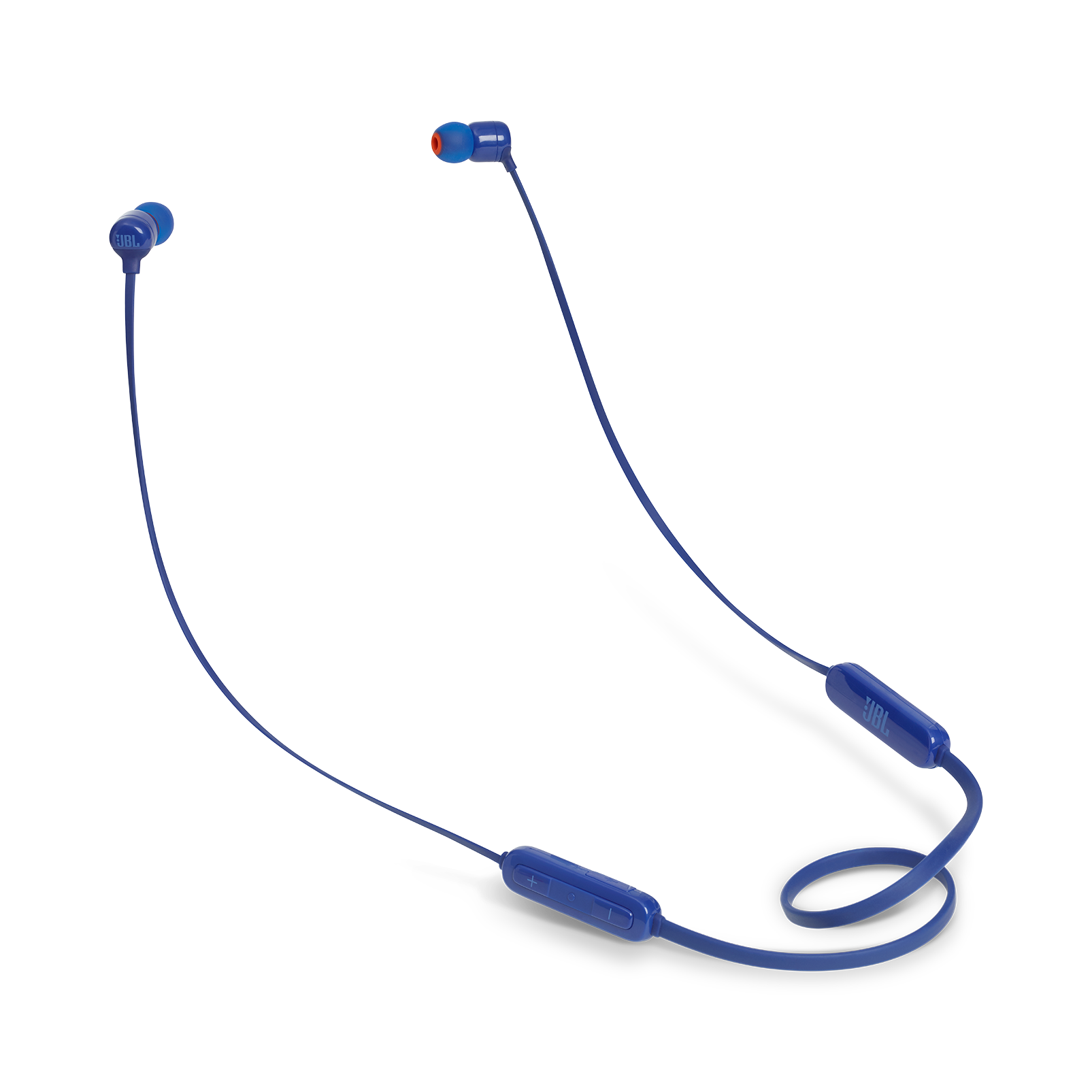 JBL TUNE 160BT - Blue - Wireless in-ear headphones - Hero