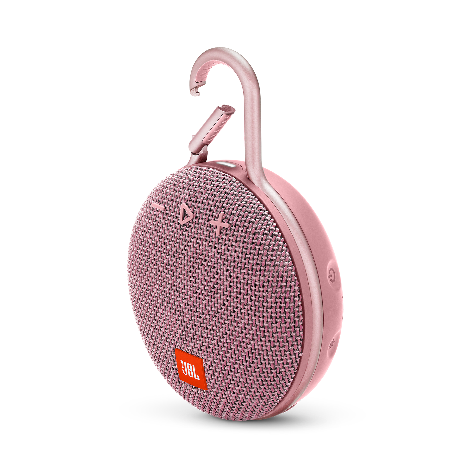 JBL CLIP 3 - Dusty Pink - Portable Bluetooth® speaker - Hero