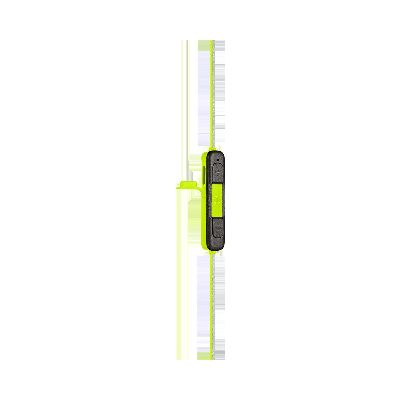 JBL REFLECT MINI 2 - Green - Lightweight Wireless Sport Headphones - Detailshot 4