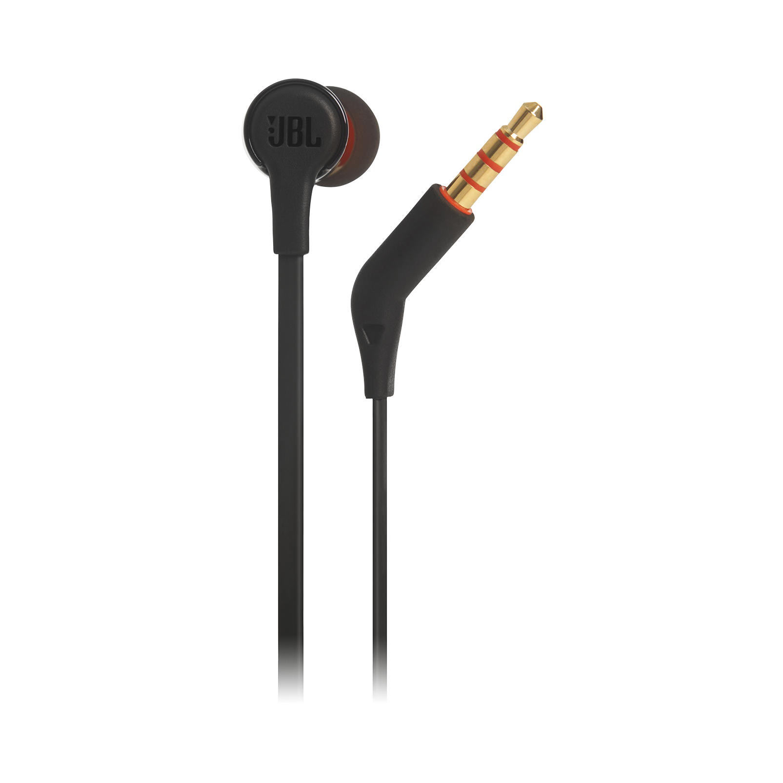 JBL TUNE 210 - Black - In-ear headphones - Detailshot 2