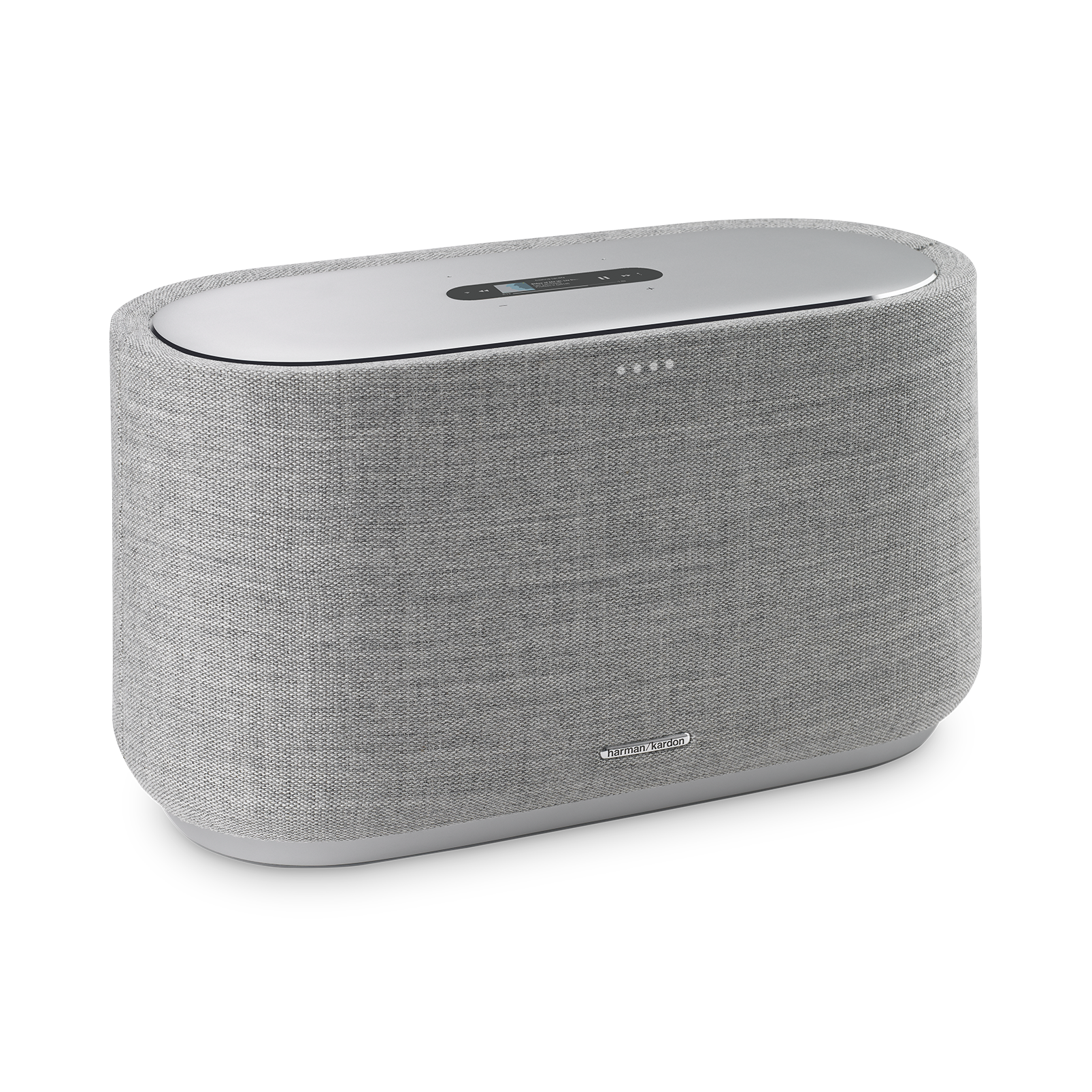 Harman Kardon Citation 500 - Grey - Large Tabletop Smart Home Loudspeaker System - Hero