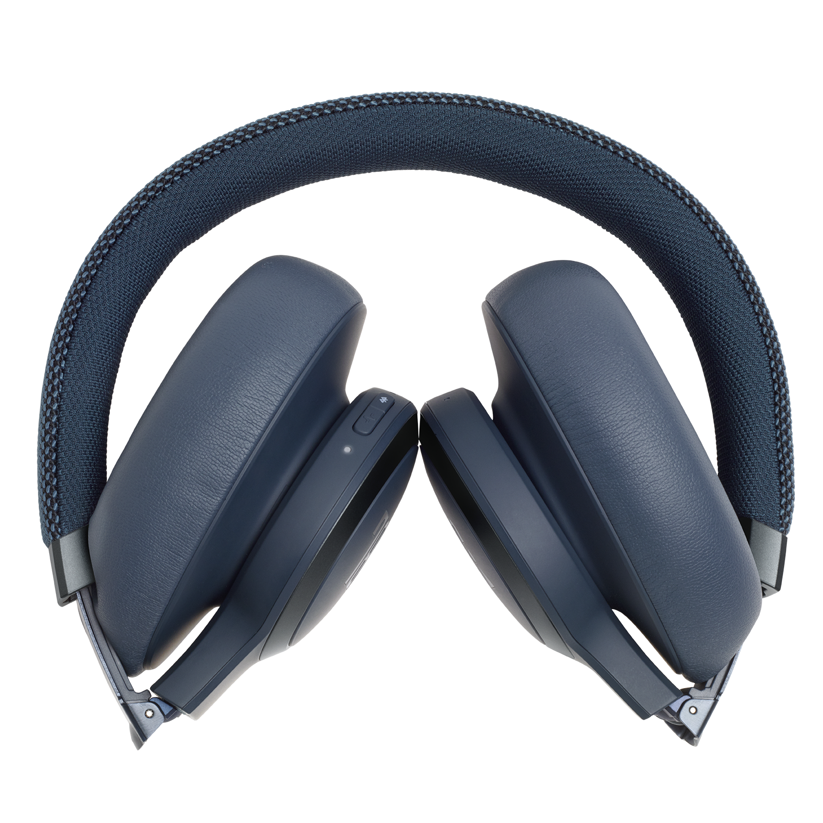 JBL LIVE 650BTNC - Blue - Wireless Over-Ear Noise-Cancelling Headphones - Detailshot 8