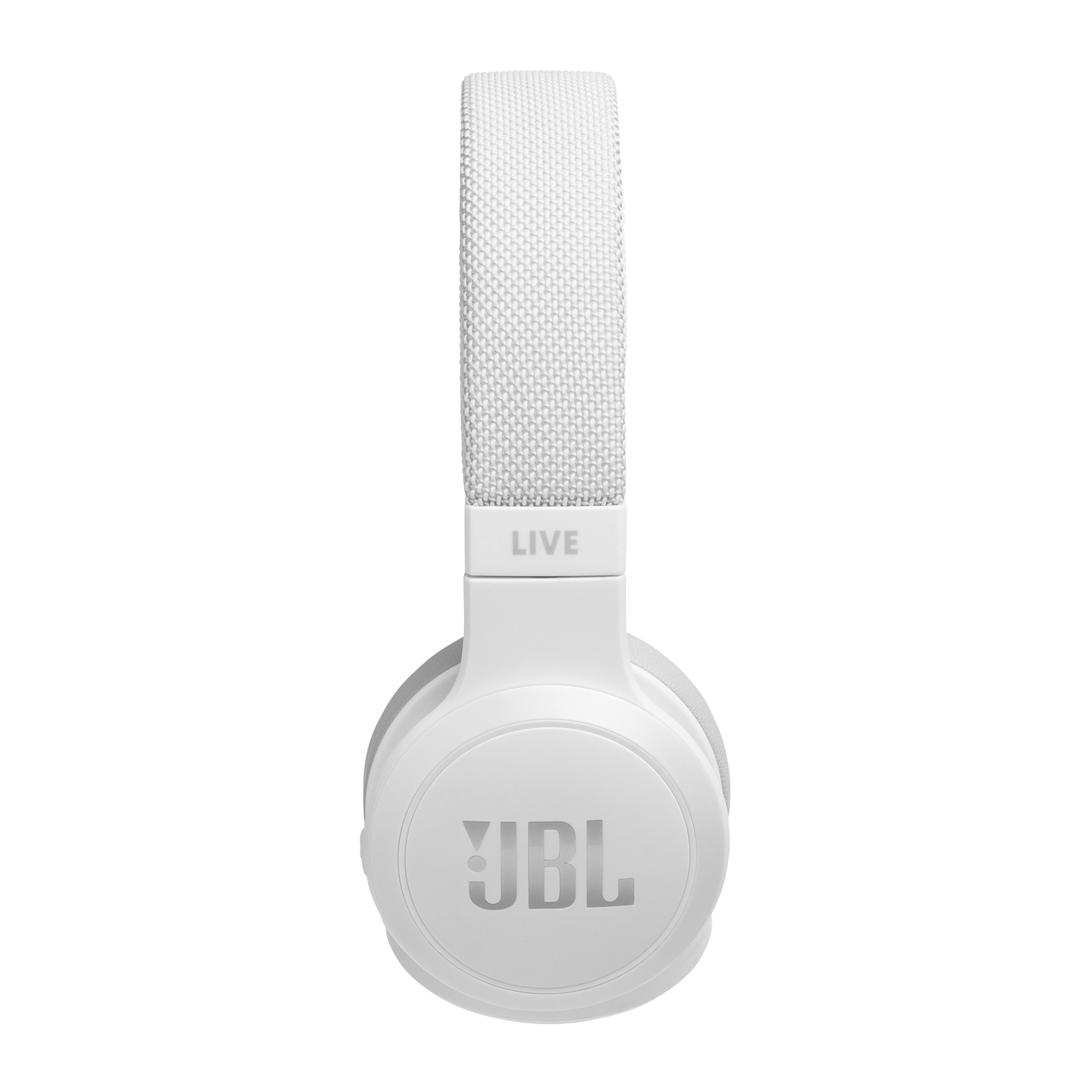 JBL LIVE 400BT - White - Your Sound, Unplugged - Detailshot 1