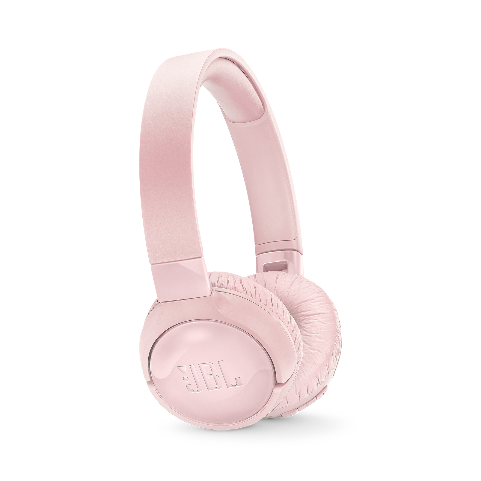 JBL TUNE 600BTNC - Pink - Wireless, on-ear, active noise-cancelling headphones. - Hero